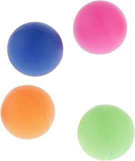 CUTICATE 4pcs 40mm Table Tennis Balls/Club Beer Pong/Cat Balls Mixed Color