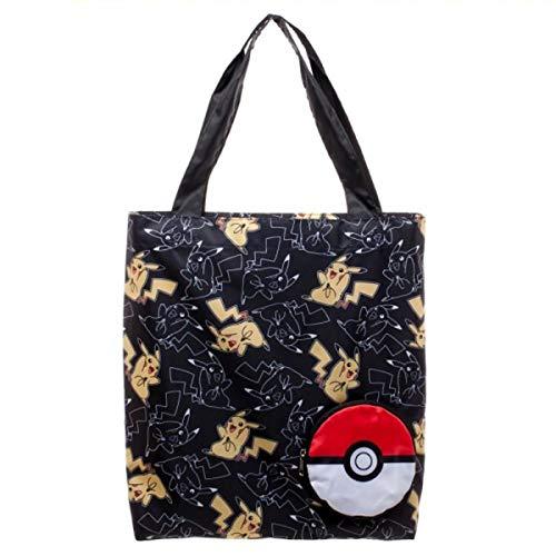 Pokemon Pikachu Packable Tote Bag