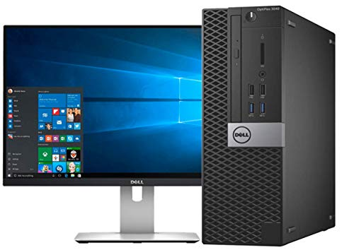 Dell OptiPlex 3040 Small Form Factor PC, Intel Quad Core i5 6500,16Gb DDR3L RAM, 256GB SSD, WiFi, Windows 10 Pro 64-with 22' LCD Panel(Renewed)