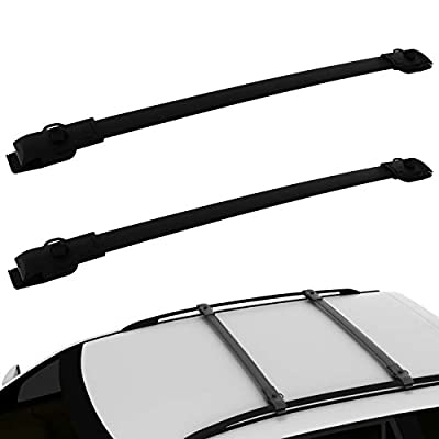AUXKO Car Roof Racks Luggage Crossbars Compatible for 2011-2020 Toyota Sienna, Aluminum Rooftop Cross Bars Replacement Carrying Cargo Carrier Bag Luggage Kayak Bike Canoe