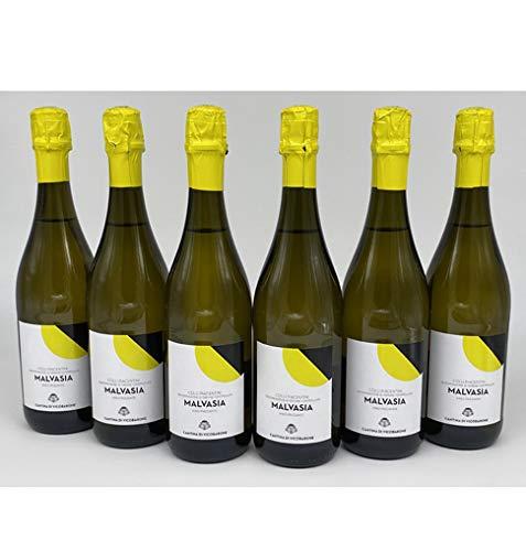 MALVASIA SECCO FRIZZANTE – D.O.C. COLLI PIACENTINI - 6 Bottiglie…