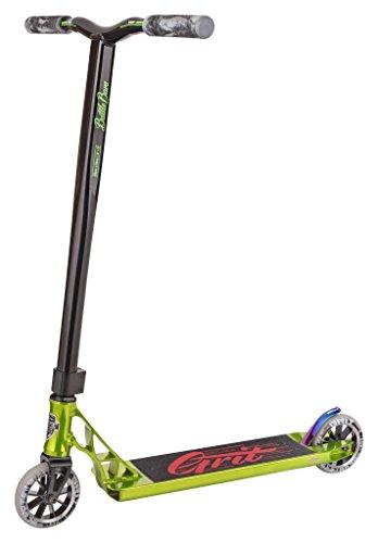 Grit Tremor Pro Stunt Scooter - Poliert Grün / Schwarz