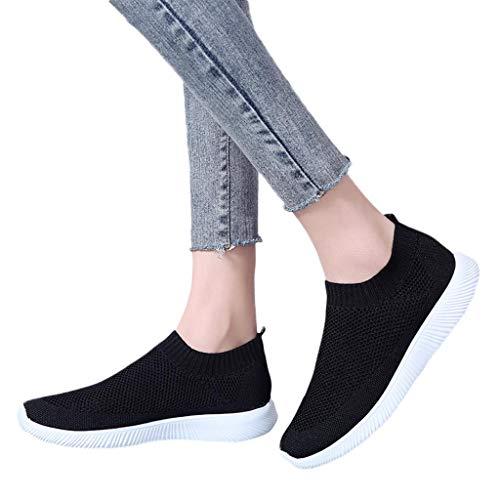 Mymyguoe Schuhe Damen Sneaker Frauen Outdoor Mesh Casual Solid Color Sportschuhe Runing Breathable Schuhe Turnschuhe Hallenschuhe Worker Boots Laufschuhe Sportschuhe Wanderschuhe Sport