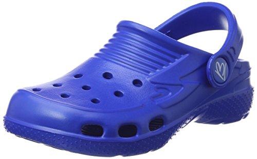 Beck Unisex-Kinder Clogs,Blau (Royalblau 12),33 EU