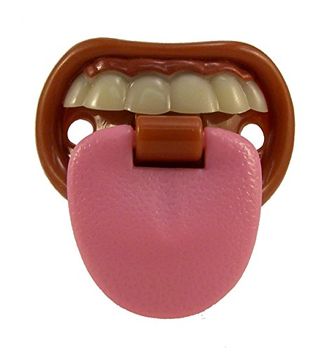 Baby with Attitude Tongue Pacifier, Billy Bob Teeth Pacifier