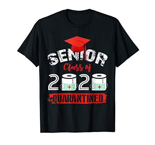 Senior Class Of 2020 Quarantined Funny College Graduation T-Shirt