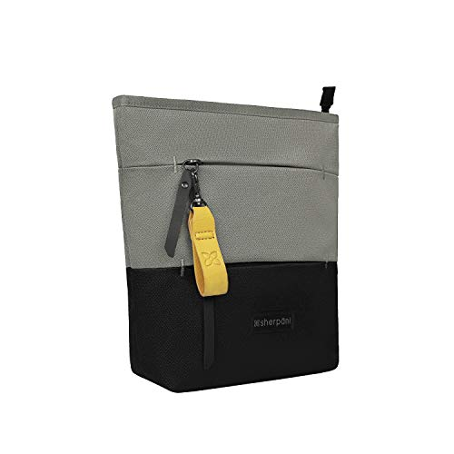 Sherpani Sadie, Nylon Crossbody Bag, Essential Messenger Bag, Shoulder Bag, Medium Crossbody Purse for Women, RFID Protection (Flint)