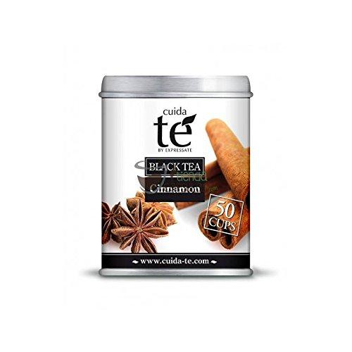 Cuida Té- Schwarzer Tee Zimt Dosenware - Ideal für Infusionen 100G