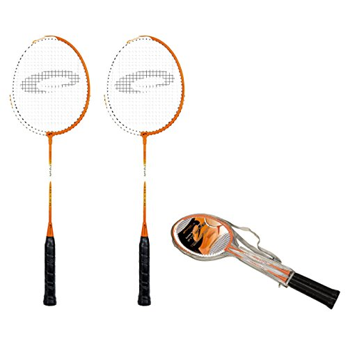 Spokey Passform one Badminton-Set Einheitsgröße Orange