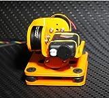 SAUJNN 3D Printed 2-Axis Brushless Camera Mount Gimbal Kit for Mobius 808# RUNCAM FPV