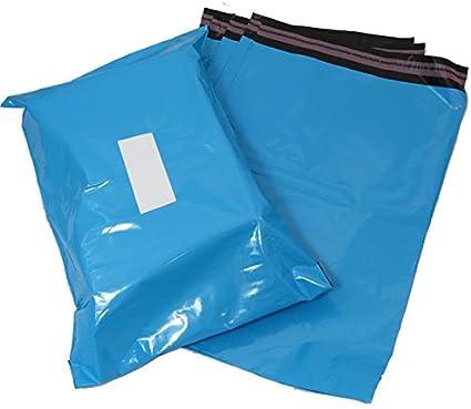 Triplast 9 x 30 cm colore: blu in plastica confezione da 1000 per spedizioni postali