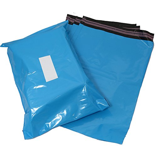 Triplast, 40 x 30 cm-Buste per posta, in plastica, colore: blu (confezione da 100)