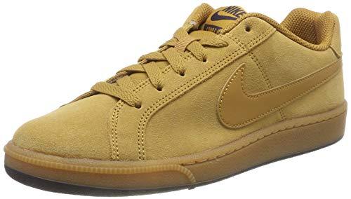 Nike Court Royale Suede, Zapatillas de Gimnasia para Hombre, Beige (Wheat/Wheat/Metro Grey/Gum Lt Brown/Black 700), 44 EU