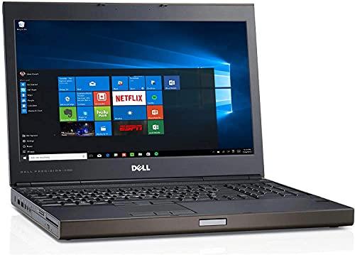 NOTEBOOK PC COMPUTER PORTATILE DELL WORKSTATION M4800 I7 4700MQ QUAD CORE FINO 3,40GHZ SCHEDA VIDEO NVIDIA QUADRO K1100M 2GB GDDR5 PER GRAFICA EDITING 3D 2D WINDOWS 10 PRO (RAM:16GB-SSDmSATA:240GB)