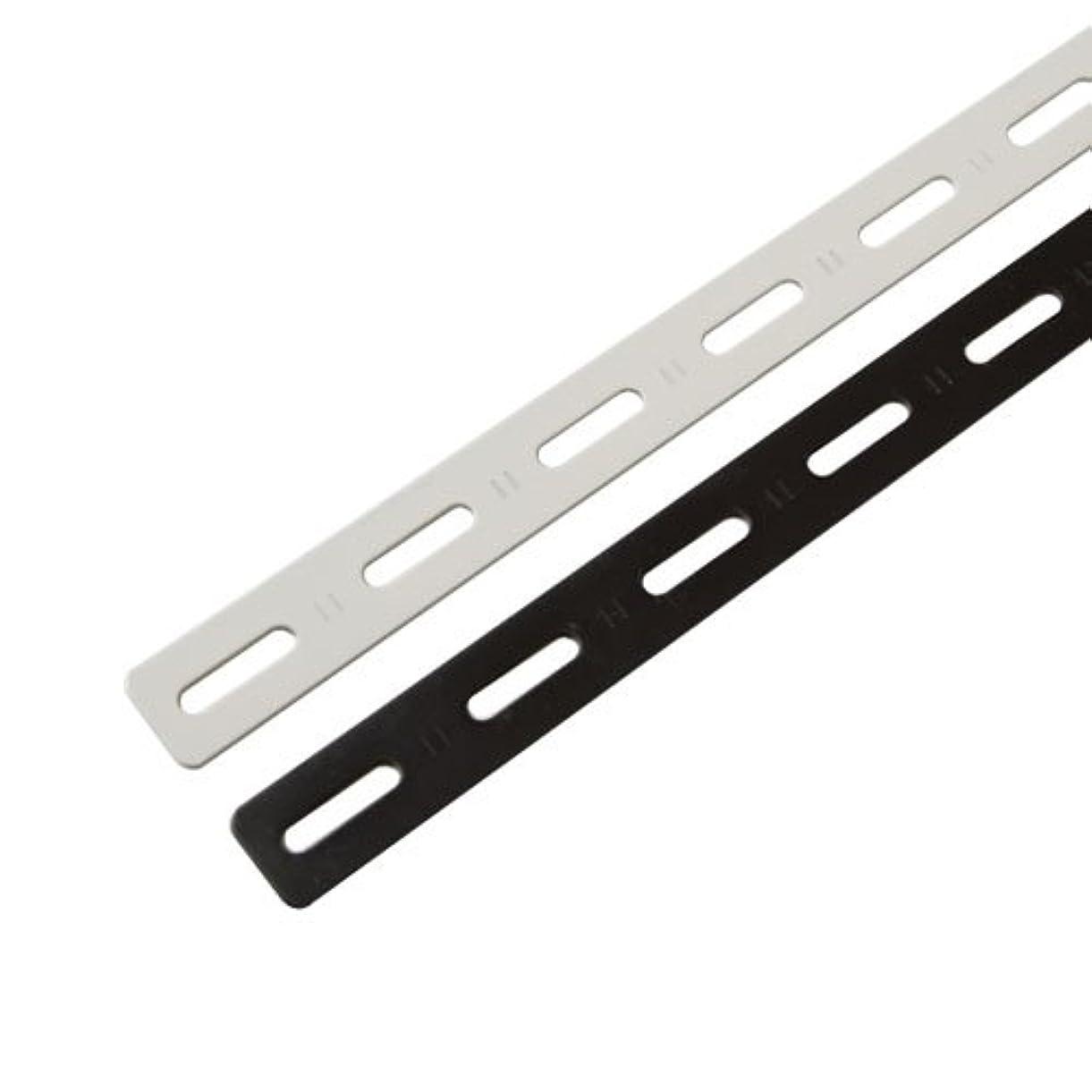 交換可能簡単な解明フラットバー30型 1800mm ブラック