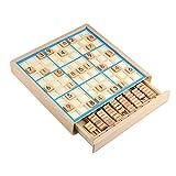Larcele Legno Sudoku Giochi da Tavolo Numero di Puzzle SD-02...