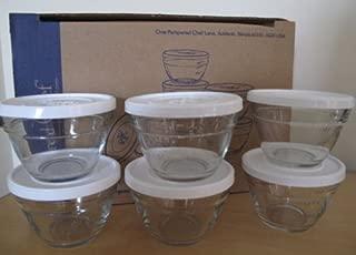 Pampered Chef Set of 6 Prep Bowls