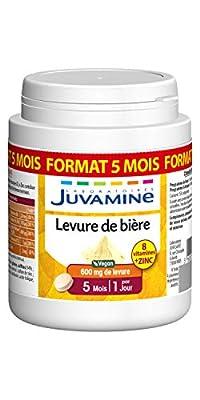 Juvamine Juvamine Beer Lip Beauty for Skin, Hair and Nails 100% Natural Maxi Format 150 Tablets