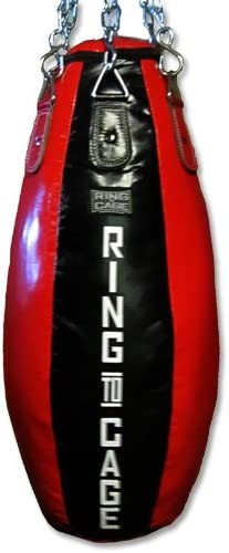 Ring to Max 88% OFF unisex Cage Tear Drop Heavy Bag - Unfilled Thai MMA for Muay