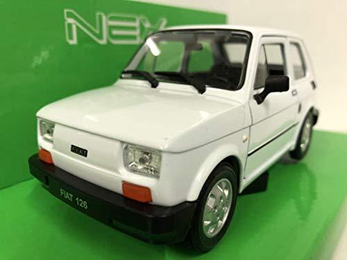 MODELLINI AUTO FIAT 126 SCALA 1:24 CAR MODEL MINIATURAS DIECAST MODELLISMO COCHE