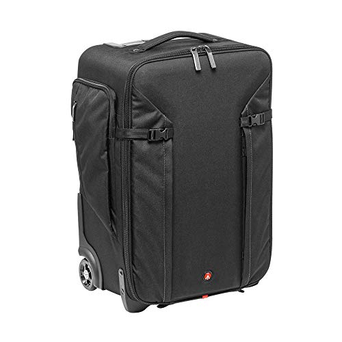 Manfrotto MB MP-RL-70BB - Maletín con Ruedas para cámara de Fotos (maletín y Funda para cámara fotográfica), Color Negro