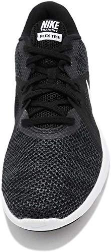 Nike Damen Flex Tr 8 Fitnessschuhe, Black/White (Anthracite), 39 EU