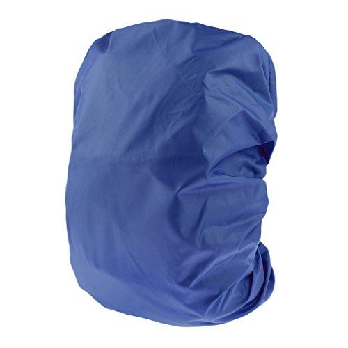 MagiDeal Housse de Protection Sac À Dos Camping Sacoche Couverture Anti-Poussière Étanche - Bleu, 45L