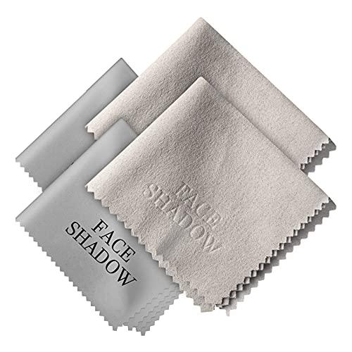 Face Shadow Paño seco antivaho para Gafas, toallitas Reutilizables antivaho para Pantallas, cámara, Dispositivos electrónicos, paños de Limpieza (2 Paquetes)