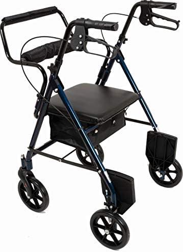 Transport Large-scale Sale item sale Rollator Blue Color: