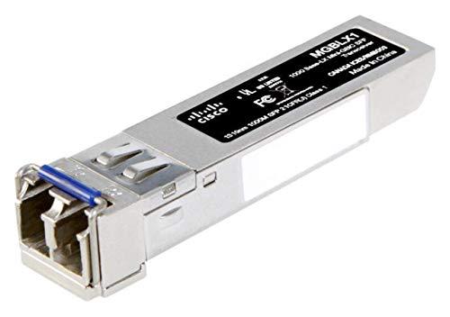Cisco MGBLX1 SFP Transceiver with Gigabit Ethernet (GbE) 1000BASE-LX Mini-GBIC (MGBLX1)