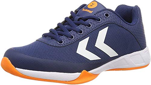 hummel Root Play Trophy, Chaussures Multisport Indoor Mixte Adulte, Bleu (Poseidon 8616), 46.5 EU