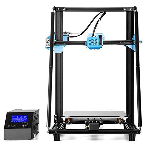 Stampante 3D ufficiale Creality CR-10 V2 con scheda madre silenziosa, alimentatore Meanwell, unità di estrusione interamente in metallo con sensore di alimentazione del filamento, ripresa della stampa