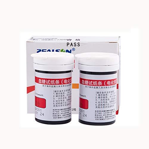Qazxc Blutzuckermessgerät Set, 3in1 Blutzucker & UricAcid & CholesterolMeter Haushalts Detector Kit Diabetes Gout Tester und Teststreifen (Color : G)