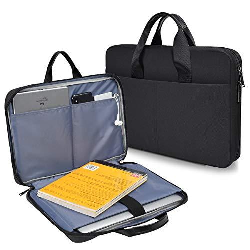 CaseBuy 180° freely Open Laptop Case for DELL XPS 15 7590, HP 14 Laptop/HP Pavilion X360 14/Chromebook 14/Stream 14, Acer Swift 3 14/Chromebook 14, Lenovo IdeaPad 14, 14 inch Notebook Bag Case