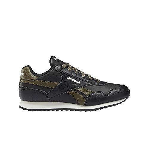 Reebok Royal CLJOG 3.0, Zapatillas de Running Hombre, Negro/ARMYGR/Chalk, 38.5 EU