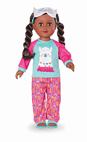 myLife Brand Products My Life As Poseable 18' Sleepover Host - African American