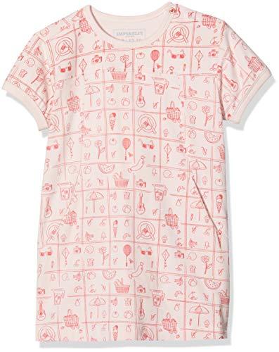 Imps & Elfs G Dress Slim Albertinia AOP Robe, Rose (Lotus P471), 62 Bébé Fille