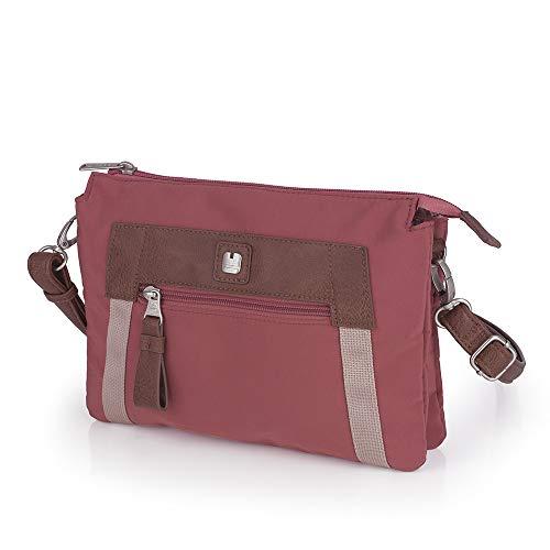 Gabol - Olympia Damen-Stofftasche, lässig, Ziegelfarben, wasserdichtes Material