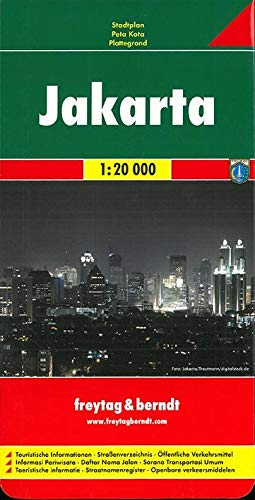 Freytag Berndt Stadtpläne : Jakarta 1:20 000