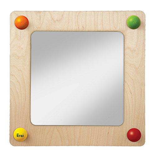 Erzi 51143 Babyweg Spiegel, 57,5 x 57,5 x 9,5 cm, Mehrfarbig