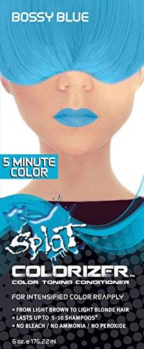 Splat Colorizer Color Toning Conditioner, Bossy Blue 6 oz