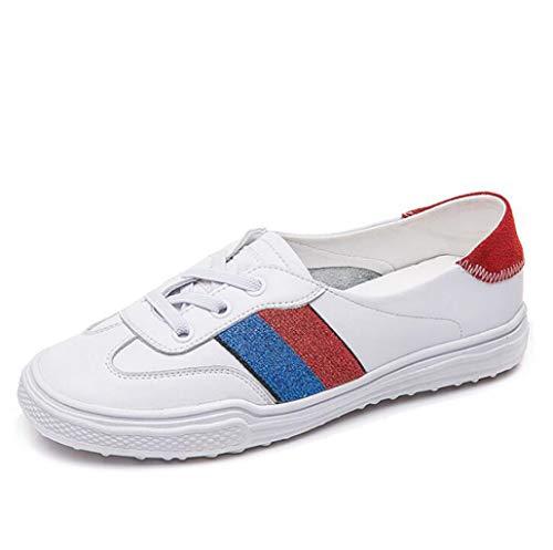 Witte lederen schoenen dames schoenen eenvoudige vrijetijdsschoenen comfortabele rijschoenen lichte pantoffels sandalen platte kop loopschoenen loopschoenen