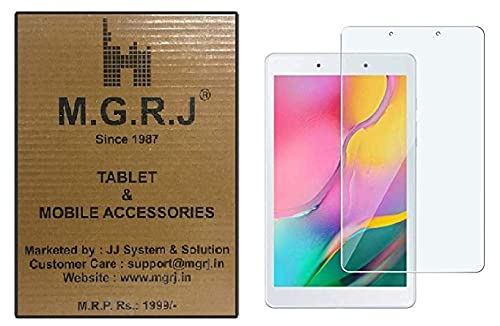 M.G.R.J® Tempered Glass Screen Protector for Samsung Galaxy Tab A 8.0 (SM-T290) (2019)