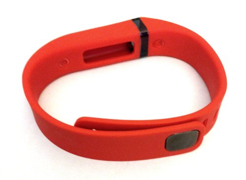 1pc Large L Red (Tangerine) Replacement Band With Clasp for Fitbit FLEX Only /No tracker/ Wireless Activity Bracelet Sport Wristband Fit Bit Flex Bracelet Sport Arm Band Armband