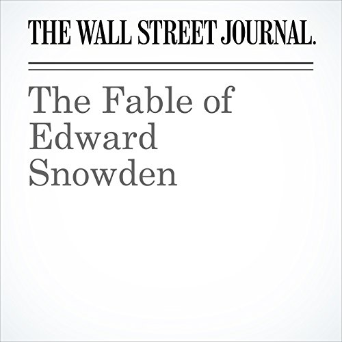 The Fable of Edward Snowden audiobook cover art