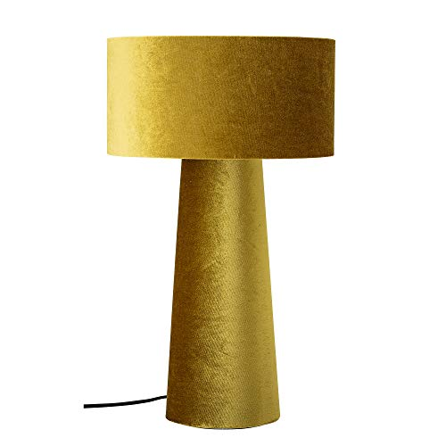 Bloomingville Tischlampe, gelb, Polyester