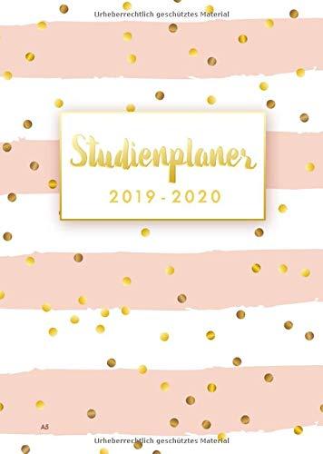 Studienplaner 2019 2020 A5: Timer, Terminplaner und Kalender von September 2019 bis Oktober 2020 - Semesterkalender, Studentenkalender und Studienplaner 2019 - 2020