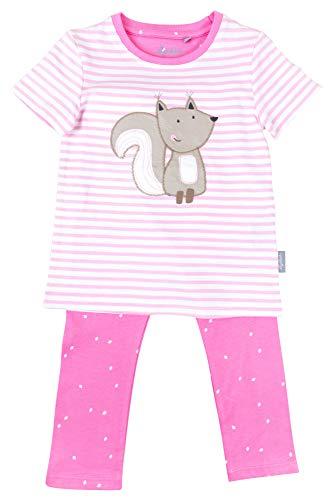 Sigikid Mädchen Pyjama-Nachtwäsche-Kurzarm-Frühjahr/Sommer Zweiteiliger Schlafanzug, Rosa (Prism Pink 612), (Herstellergröße: 92)