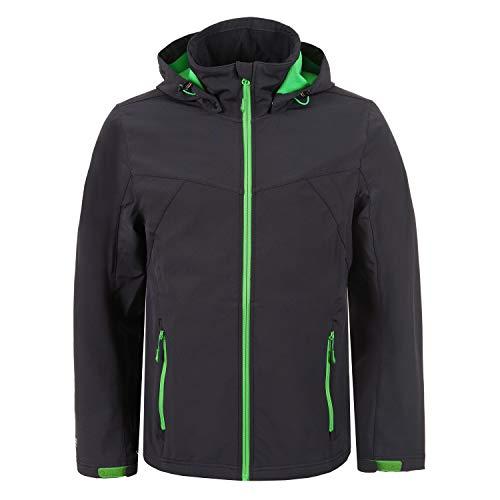 Icepeak Lukas Softshell Jacket Men Grey Größe 46 2018 Funktionsjacke