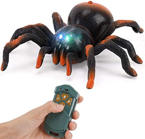 RC Moving Tarantula Spider Kids Wireless Remote Control Toy Great for Pranks and Halloween Decorations product image